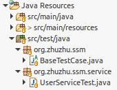 Java Test Structure